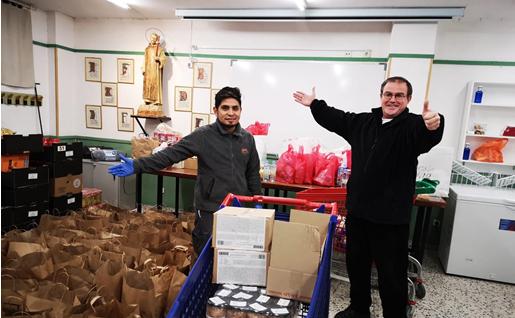 Forúm Solidário – Ajuda a alimentação básica